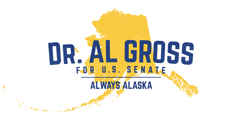 Dr Al Gross for US Senate Logo